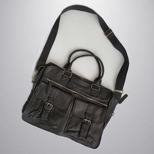 Oxford - Genuine Leather Messenger Bag
